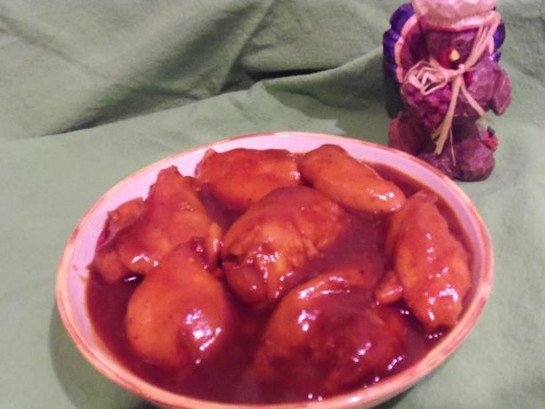 Crock Pot Saucy Chicken Thighs
