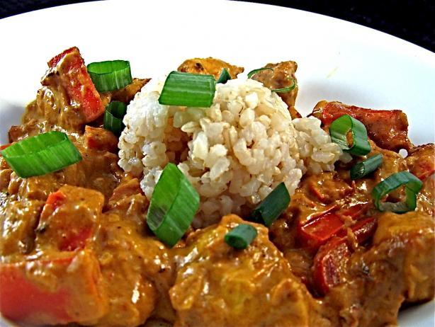 """Thai """"orange"""" Curry Chicken"""