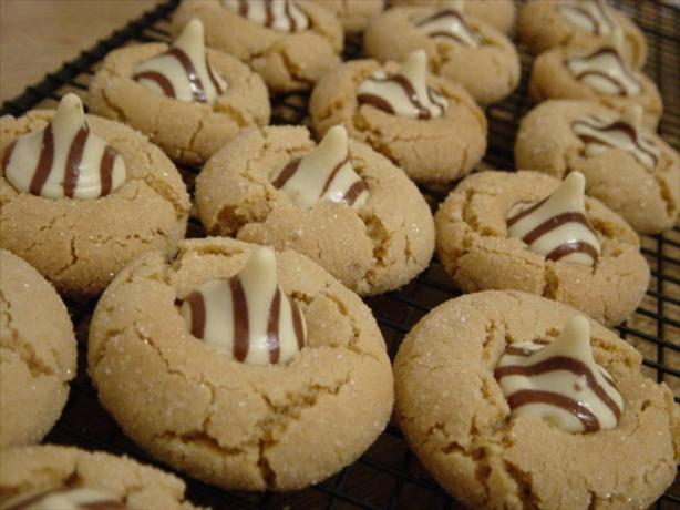 Hershey's Kiss Peanut Butter Cookies