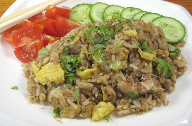 Big John's Thai Crab Fried Rice (Khao Phad Pu)