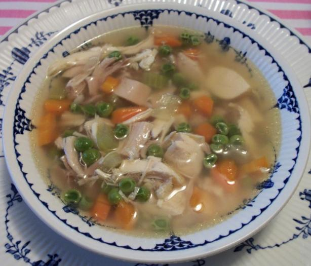 Chicken & Rice (Or Noodle) Soup