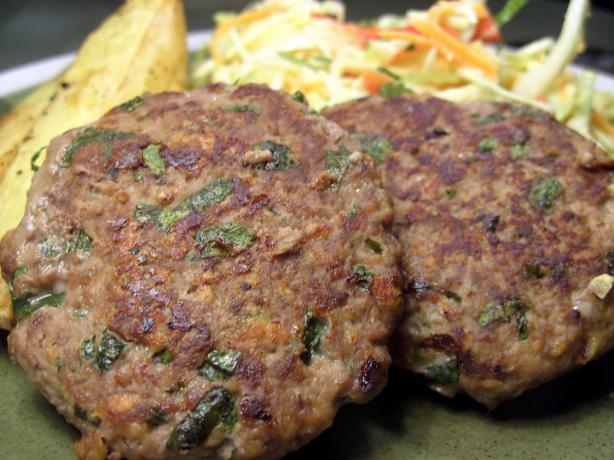 Thai Red Curry Burger