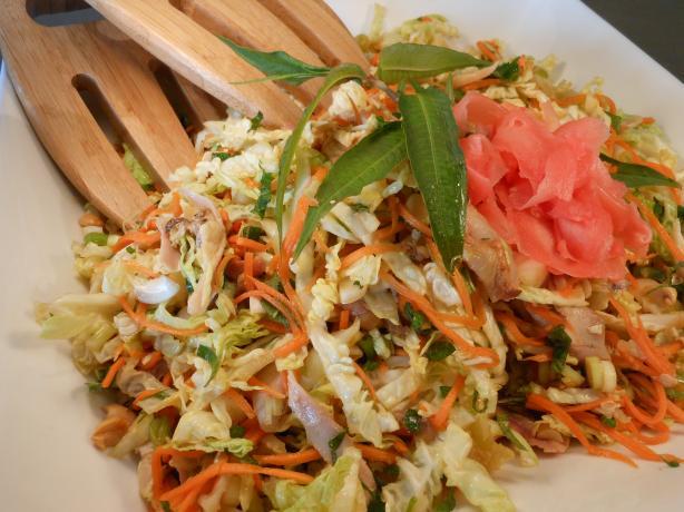 Thai-Style Chicken Coleslaw