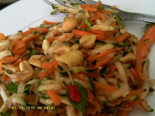 Thai Carrot Cucumber Salad