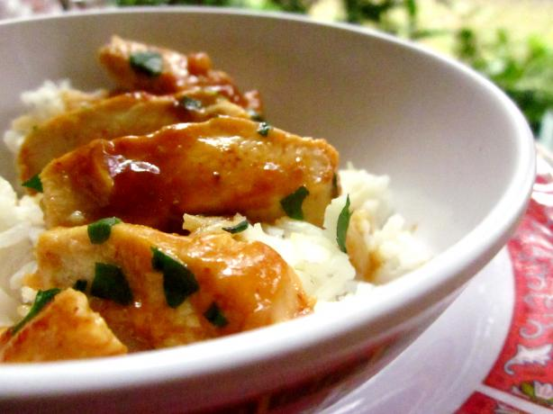 Sweet Chili Chicken With Rice