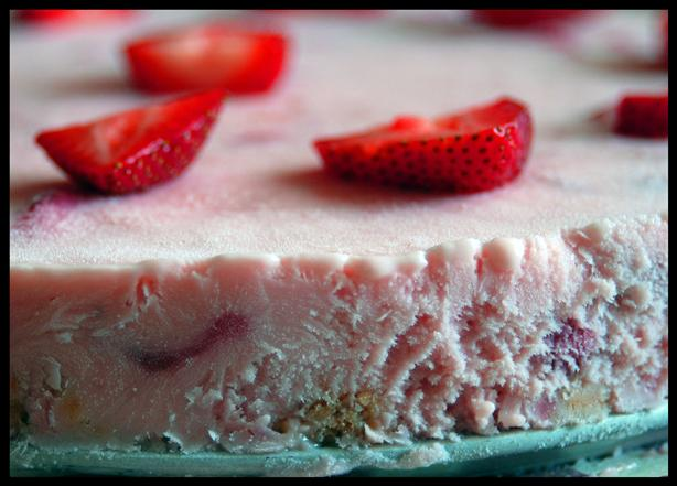 Frozen Strawberry Margarita Dessert