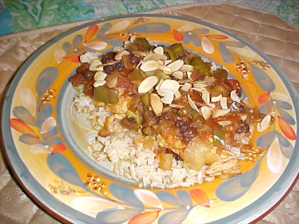 Easy Moroccan-Style Chicken Breasts