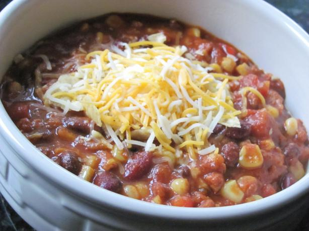 Easy Slow Cooker Mexican Chorizo Chili