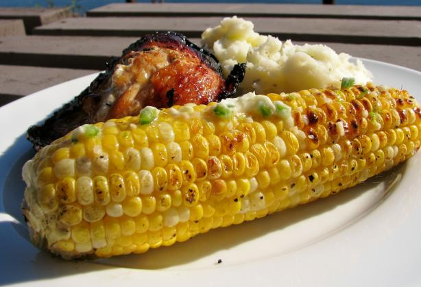 Grilled Jalapeno Lime Corn on the Cob