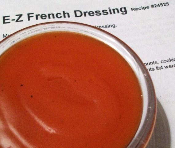 E-Z French Dressing