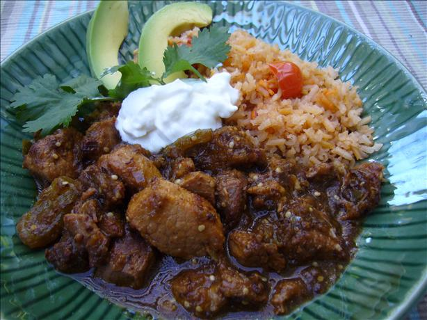 Spicy Green Chile Verde Pork