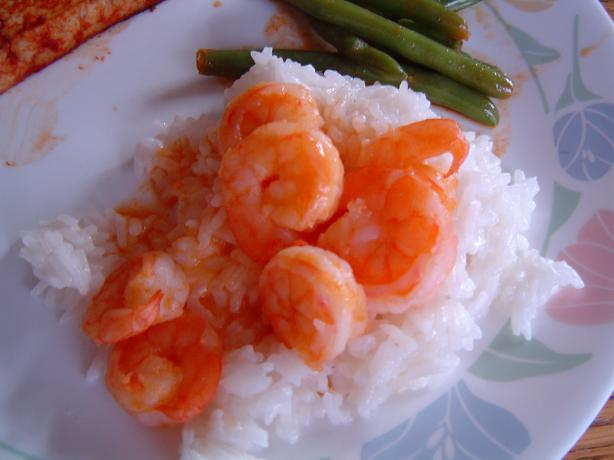 Thai Shrimp With Coconut-Almond Rice