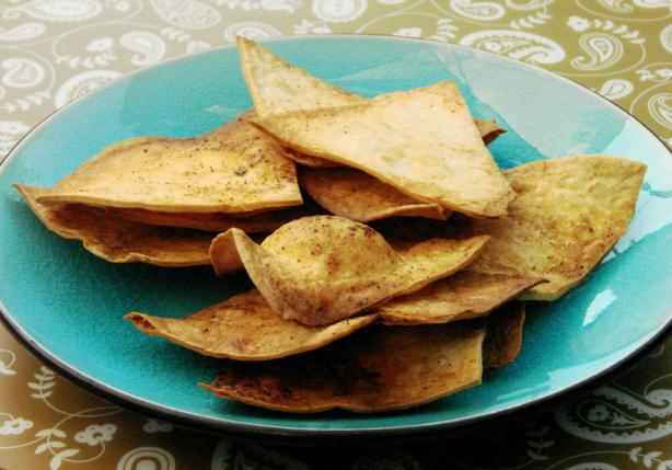 Spicy Tortilla Chips