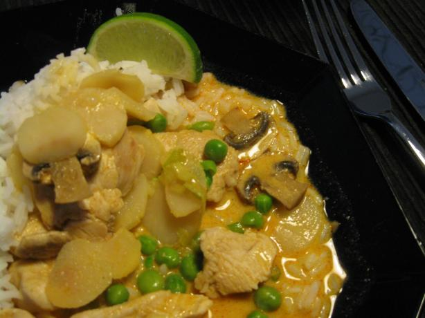 Thai Coconut Chicken and Rice