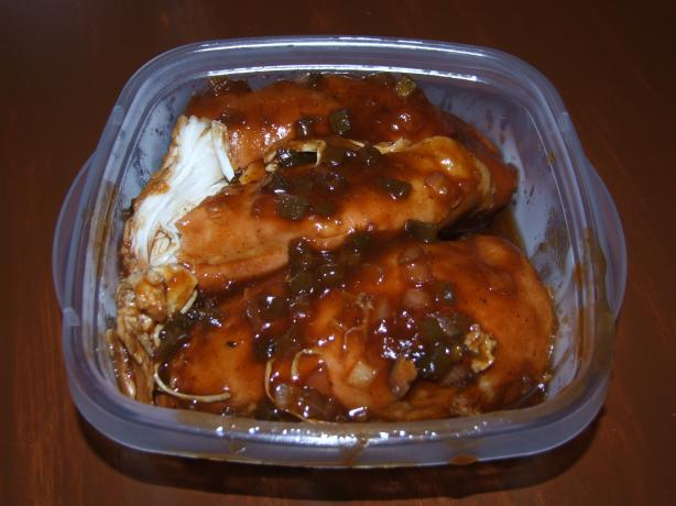 Crock Pot Spicy Boneless BBQ Chicken - Easy