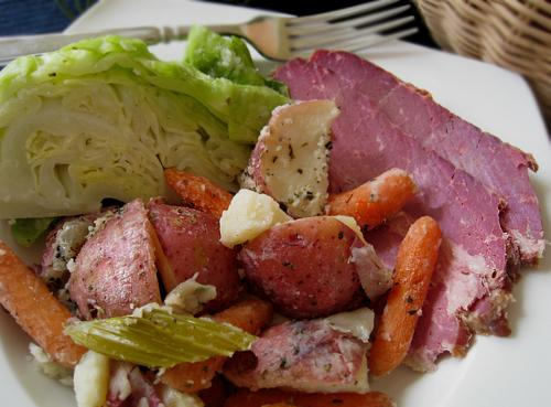 Corned Beef Dinner in the Crock-Pot
