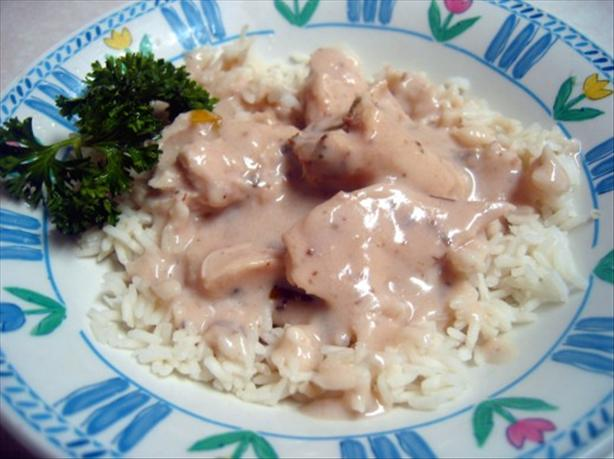 Crock Pot Chicken With Mushroom Soup