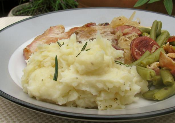 Garlic-Rosemary Mashed Potatoes