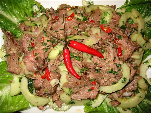 Yum Nua - Thai Beef Salad
