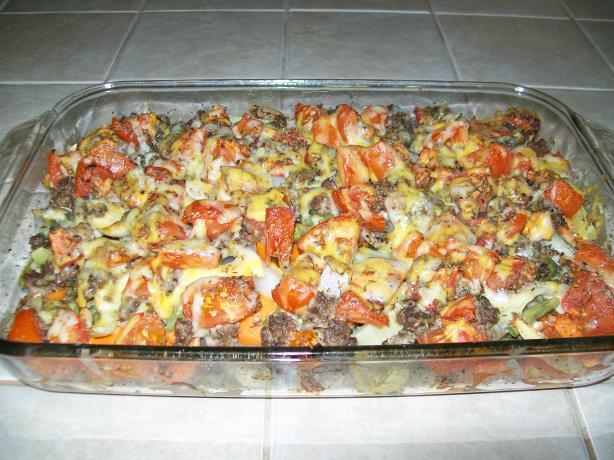 Vegetable Beef Casserole