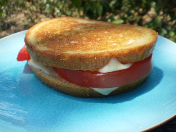 Grilled Swiss & Tomato on Rye