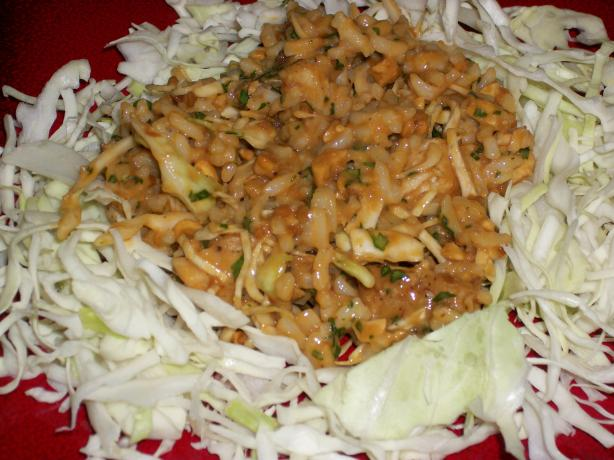 Spicy Thai Chicken Rice Salad