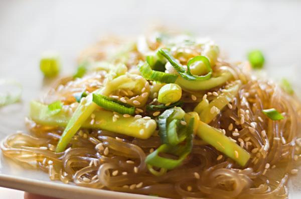 Noodles in Sesame-Soy Sauce