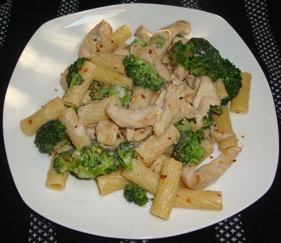 Chicken (Or Not) W/ Broccoli and Ziti