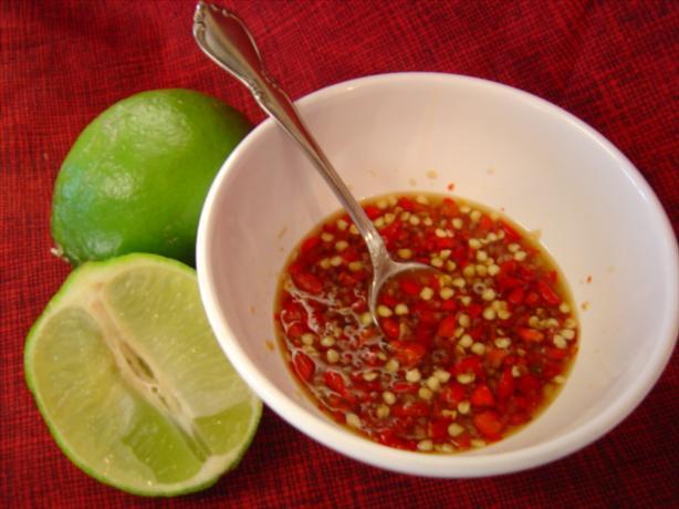 Thai Red Chile Sauce - Nam Prik Dang