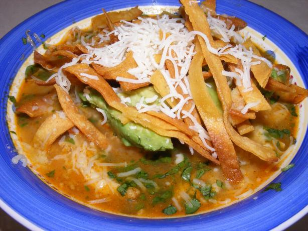 Chicken Tortilla Soup (Similar to Houston's)