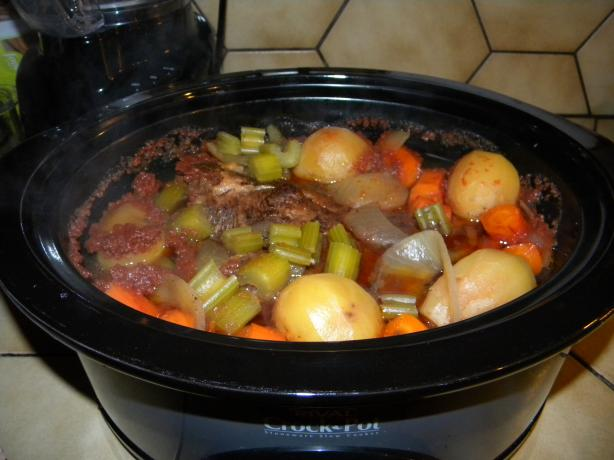 Another Beef Slow Cooker Pot Roast -- Hubby & Kids Favorite