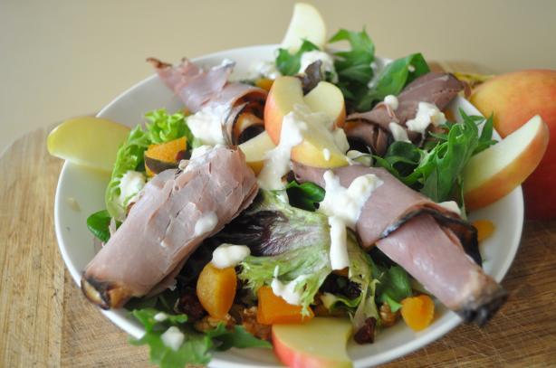 Roast Beef Waldorf Salad
