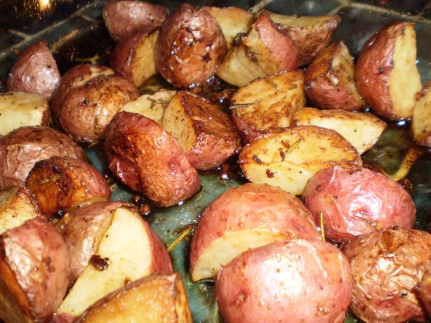 Savory Roasted New Potatoes