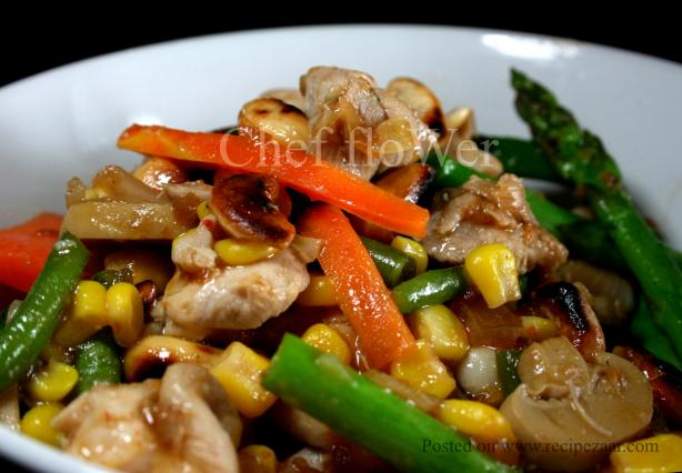 Chicken & Cashew Stir-Fry