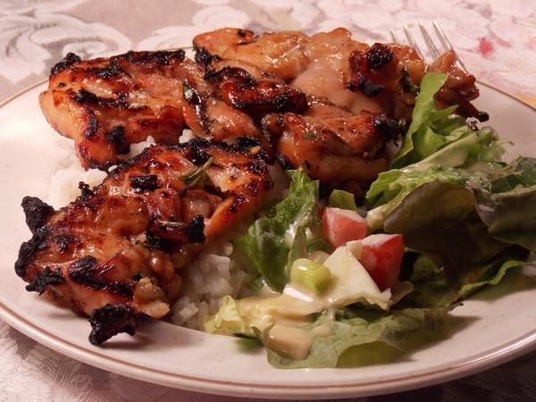 Thai Grilled Chicken Thighs