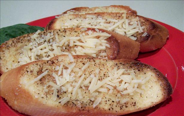 Garlic Butter Parmesan Crostini