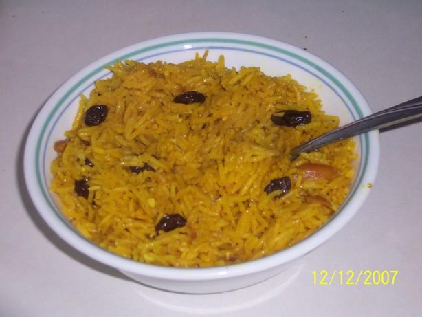 Persian-Style Basmati Rice Pilaf