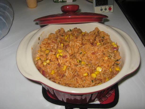 My New Mexican Rice Recipe