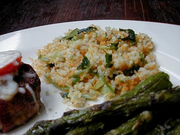Scallion Couscous