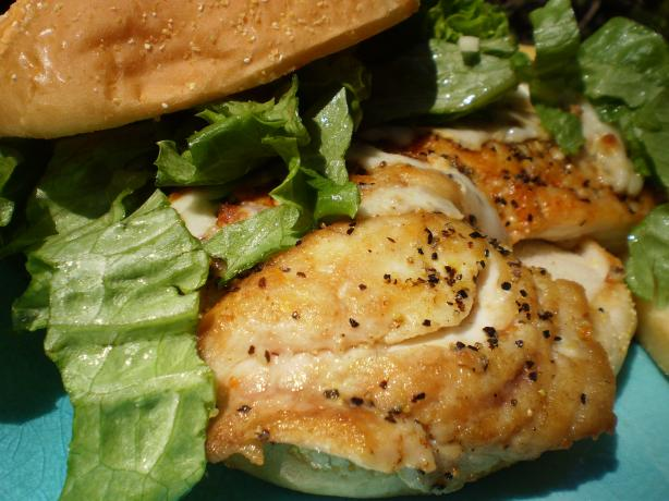 Tangy Fish Sandwiches