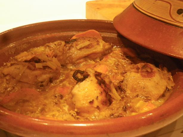 Tagine of Chicken & Sweet Potato
