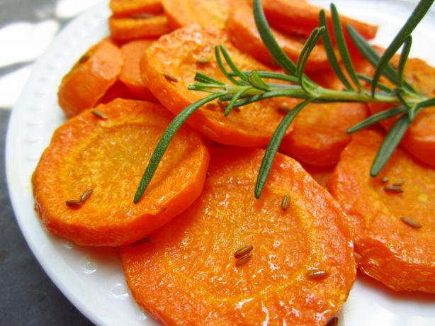 Caramelized Cumin-Roasted Carrots
