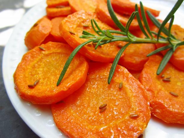 Caramelized Cumin-Roasted Carrots