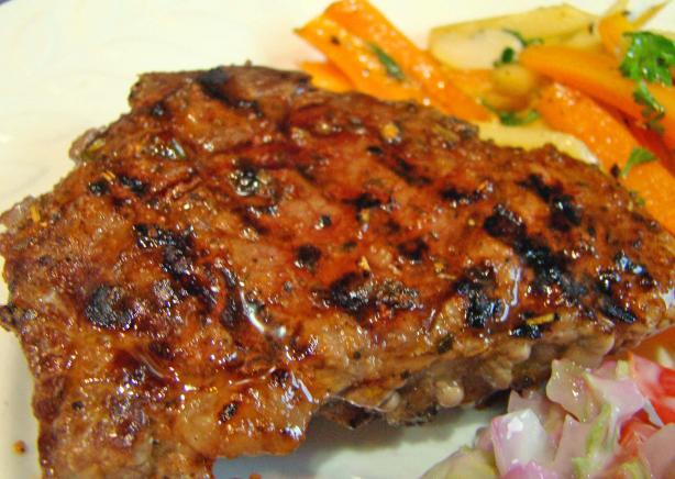 Healthy Herb-Pepper Sirloin Steak