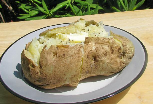 30 Minute Baked Potato