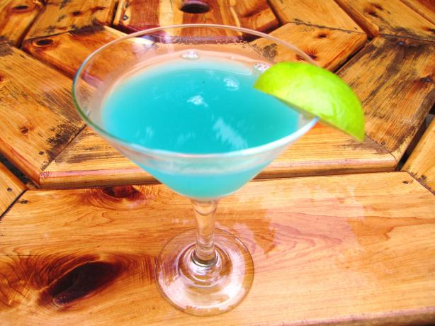 Toopua Blue Lagoon Cocktail