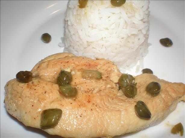 Lower Carb Lemon Caper Chicken