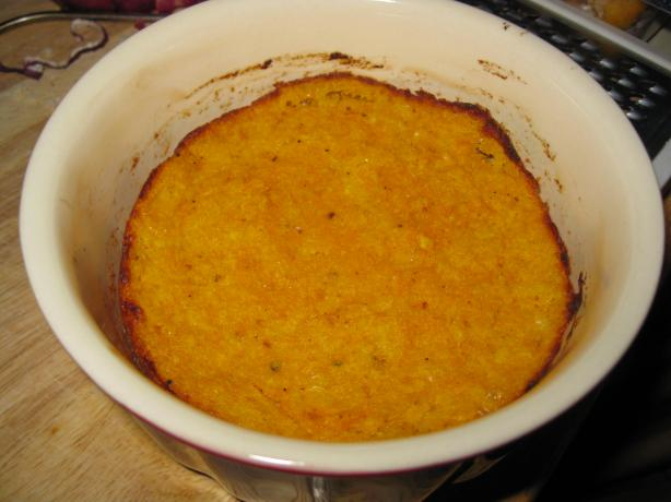 Baked Squash and Parmesan Cheese Pudding (Tortino Di Zucca)