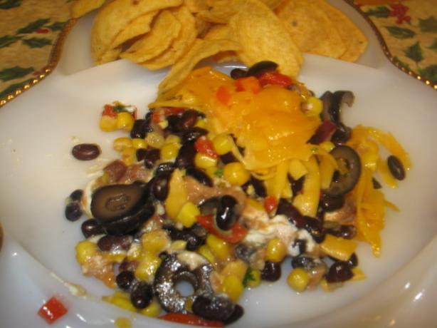 Black Bean and Corn Salsa Dip