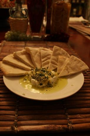 Herb and Lemon Goat Cheese Spread